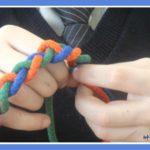 Плетём косички – развиваем пальчики