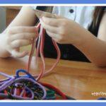 Игры-шнуровки