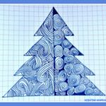 Необычные рисунки к Новому году