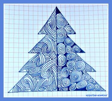 Рисунки к Новому году