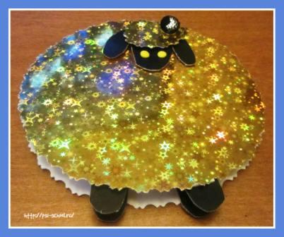 символ года овечка